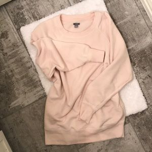 ⚡️2 for $15 Oversized Pink Sweater